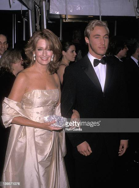 Actress Deidre Hall and actor Kyle Lowder attend the 28th Annual Daytime Emmy Awards on May 18 2001 at Radio City Music Hall in New York City