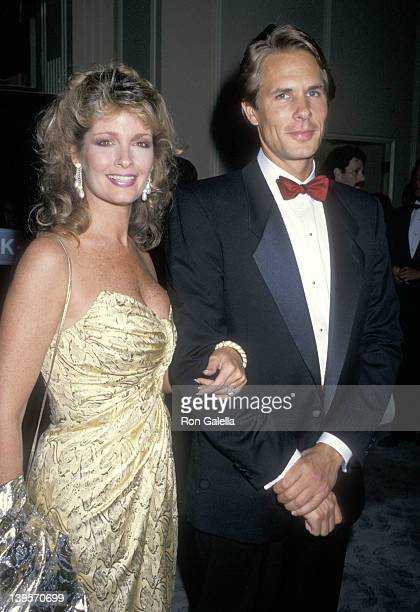 Actress Deidre Hall and date Michael Dubelko attend the Salute to Hollywood Gala to Benefit the Cebral Palsy Associations on September 18 1987 at...