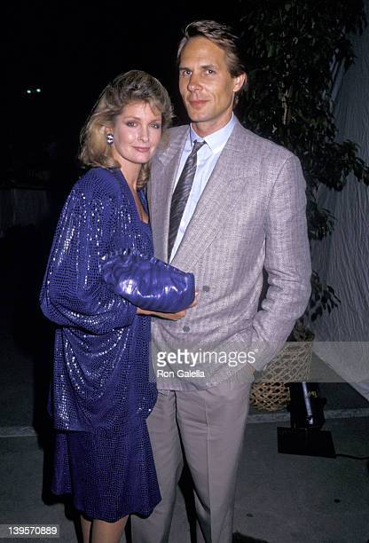 Actress Deidre Hall and husband Michael Dubelko attend A Summer Story Premiere Party on July 7 1988 at the Holiday Inn in Hollywood California