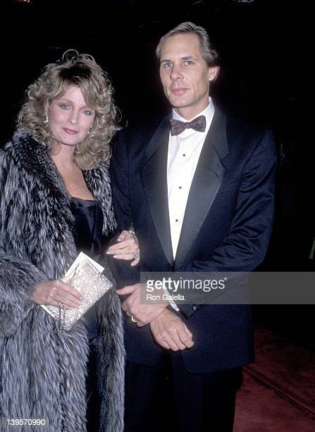 Actress Deidre Hall and husband Michael Dubelko attend the Academy of Television Arts and Sciences Presents the Fifth Annual Television Hall of Fame...