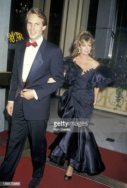 Actress Deidre Hall and husband Michael Dubelko attends the American Jewish Committee's Sherrill C Corwin Human Relations Award Salute to Merv...
