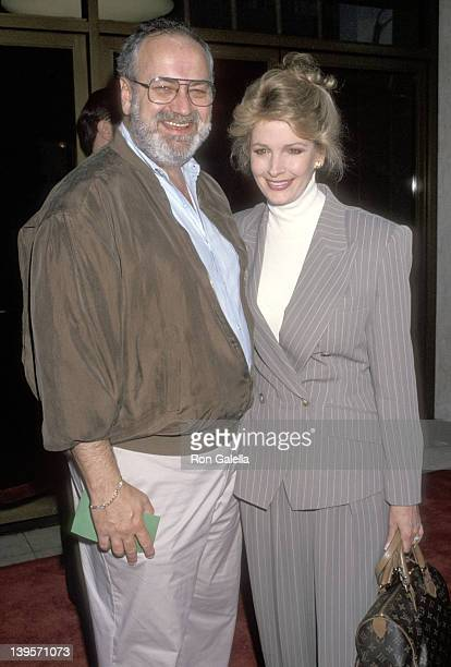 Actress Deidre Hall and husband Steve Sohmer attend the Much Ado About Nothing Westwood Premiere on May 10 1993 at Mann National Theatre in Westwood...