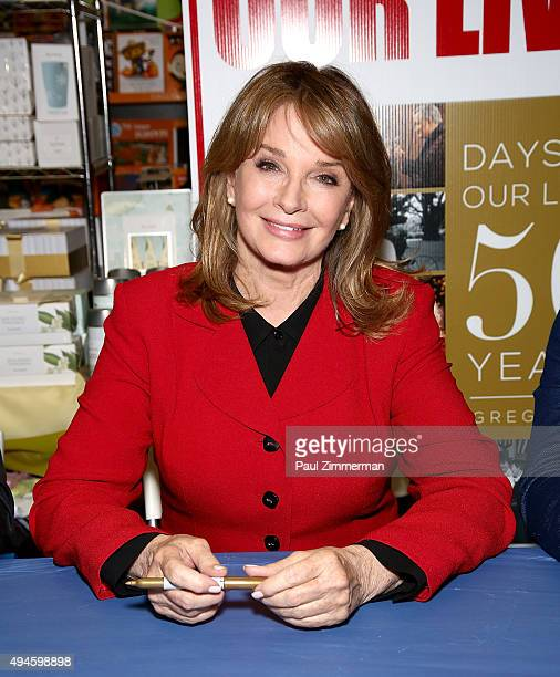 Actress Deidre Hall attends Days Of Our Lives Book Signing Books And Greetings In Northvale NJ on October 27 2015 in Northvale New Jersey