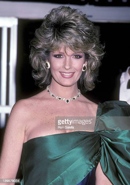 Actress Deidre Hall attends the 13th Annual American Film Institute Lifetime Achievement Award Salute to Gene Kelly on March 17 1985 at Beverly...