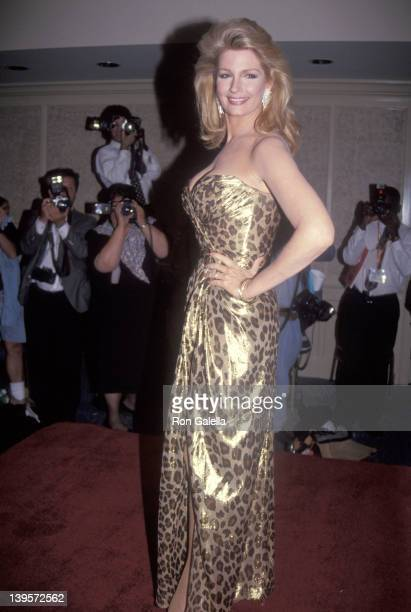 Actress Deidre Hall attends the 19th Annual Daytime Emmy Awards on June 23 1992 at Sheraton NY Hotel and Towers in New York City