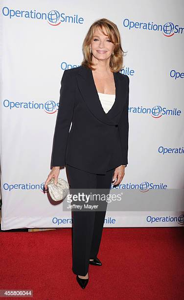 Actress Deidre Hall attends the 2014 Operation Smile Gala at the Beverly Wilshire Four Seasons Hotel on September 19, 2014 in Beverly Hills,...