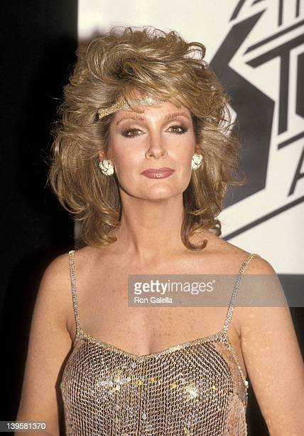 Actress Deidre Hall attends the First Annual Stuntman Awards on February 2 1985 at the KABCTV Studios in Hollywood California