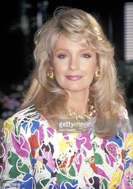 Actress Deidre Hall attends the NBC Summer TCA Press Tour on July 27 1991 at Universal Hilton Hotel in Universal City California