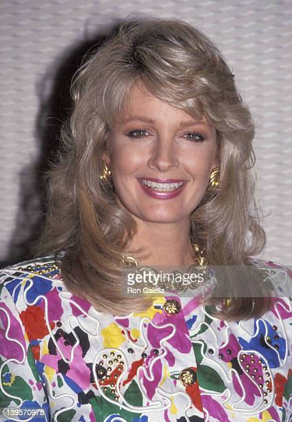 Actress Deidre Hall attends the NBC Summer TCA Press Tour on July 27, 1991 at Universal Hilton Hotel in Universal City, California.