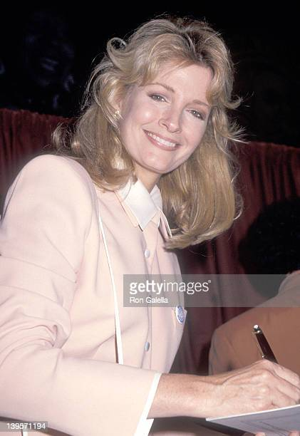 Actress Deidre Hall attends The New York Friars' Club Roasts Whoopi Goldberg on October 8 1993 at New York Hilton Hotel in New York City