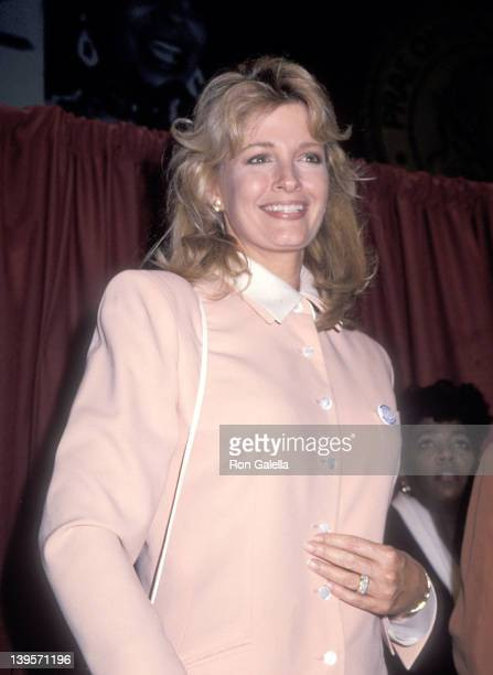 Actress Deidre Hall attends The New York Friars' Club Roasts Whoopi Goldberg on October 8, 1993 at New York Hilton Hotel in New York City.