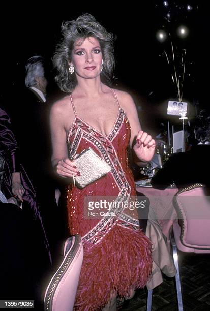 Actress Deidre Hall attends the Night of 100 Stars II Gala to Benefit The Actors Fund of America After Party on February 17 1985 at New York Hilton...