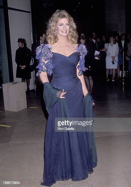 Actress Deidre Hall attends the Ninth Annual Soap Opera Digest Awards on February 26 1993 at Beverly Hilton Hotel in Beverly Hills California