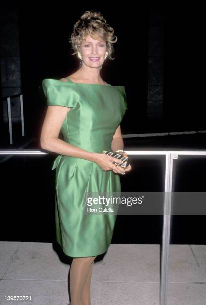 Actress Deidre Hall attends The Phantom of the Opera Preview Performance on May 23 1989 at Ahmanson Theatre Los Angeles Music Center in Los Angeles...