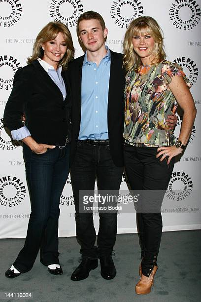 Actress Deidre Hall Chandler Massey and Alison Sweeney attend the Paley Center For Media presents an evening with Days Of Our Lives held at The Paley...