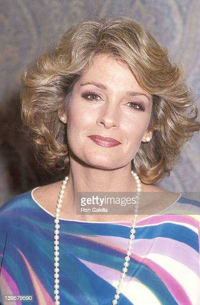 Actress Deidre Hall Hosts a Lunchbreak Party on May 25 1984 at Hollywood Palladium in Hollywood California