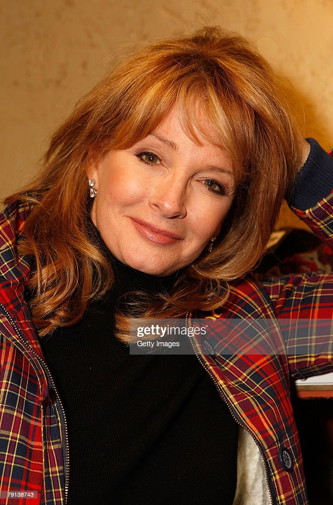 Actress Deidre Hall poses at the Gibson Guitar celebrity hospitality lounge held at the Miners Club during the 2008 Sundance Film Festival on January 20, 2008 in Park City, Utah.