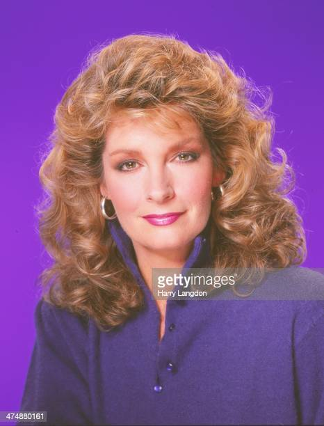 Actress Deidre Hall poses for a portrait in 1987 in Los Angeles California