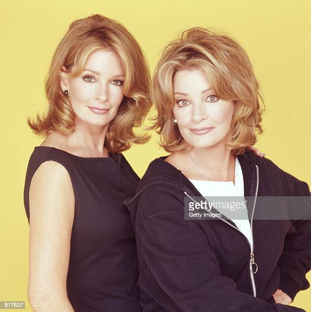 Actress Deidre Hall stars as and Andrea HallGengler stars as in NBC's daytime soap series 'Days of Our Lives'
