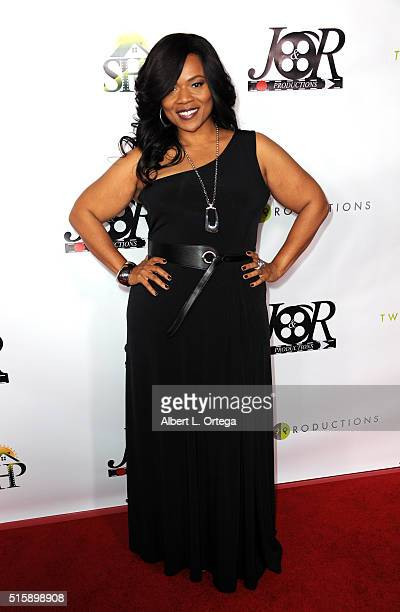 Actress Deja Dee arrives for the Premiere Of JR Productions' Halloweed held at TCL Chinese 6 Theatres on March 15 2016 in Hollywood California