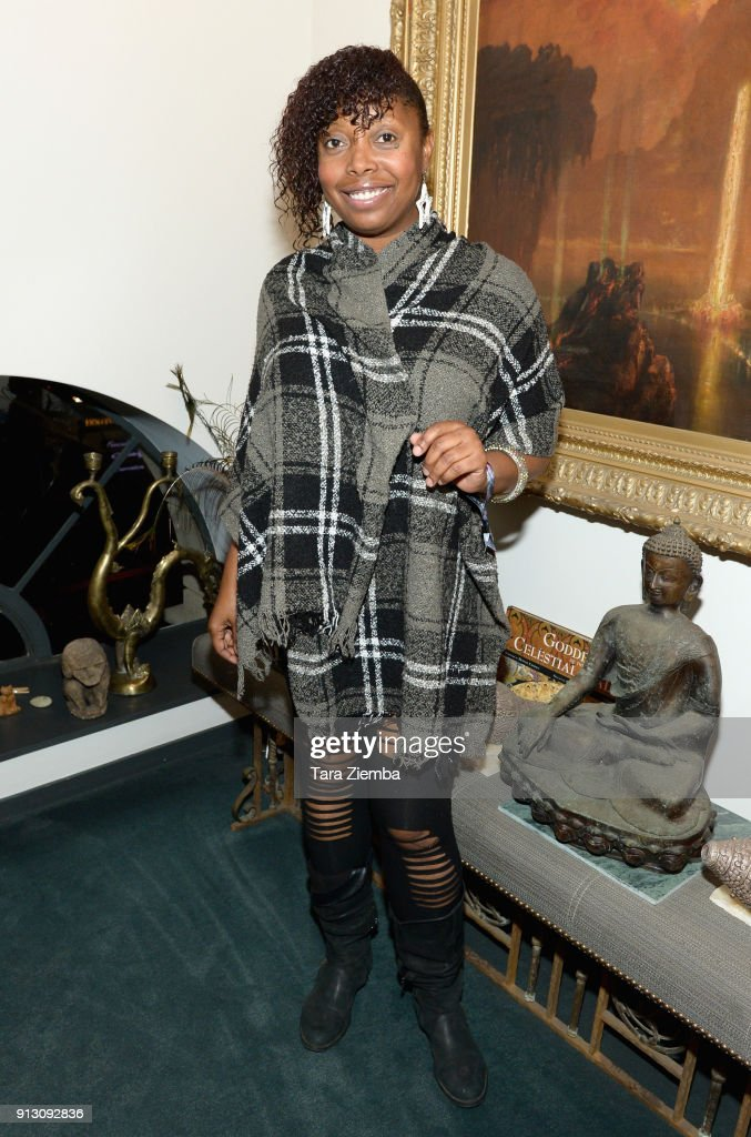 Actress Del Harrison attends The Secret Society Of The Sisterhood at The Masonic Lodge at Hollywood Forever on January 31, 2018 in Los Angeles, California.