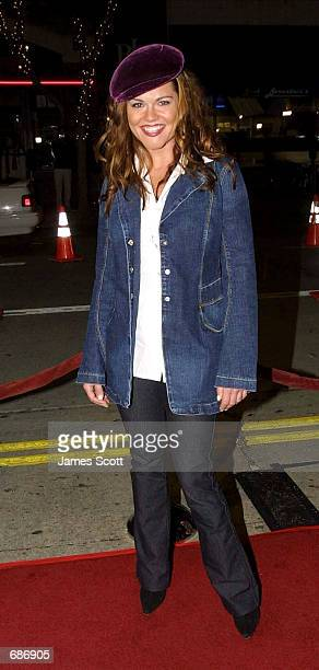 Actress Delaina Mitchell attends the premiere of 'Kate Leopold' December 11 2001 in Los Angeles CA