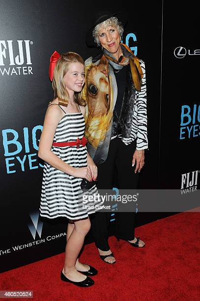 "Actress Delaney Raye and Jane Ulbrich attend the ""Big Eyes"" New York Premiere at Museum of Modern Art on December 15, 2014 in New York City."