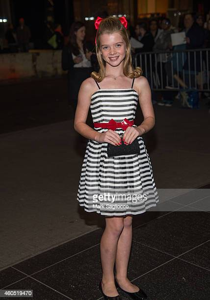 """Actress Delaney Raye attends the """"Big Eyes"""" New York Premiere at the Museum of Modern Art on December 15, 2014 in New York City."""