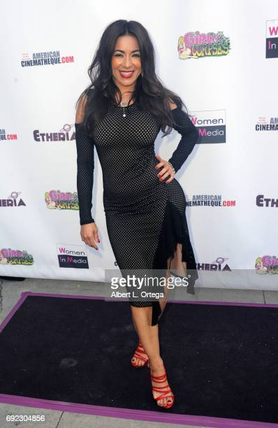 Actress Delilah Cotto arrives for Etheria Film Night held at The Egyptian Theatre on June 3 2017 in Los Angeles California