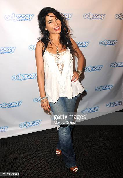 Actress Delilah Cotto arrives for the Reading Of The Blade Of Jealousy/La Celsa De Misma held at The Odyssey Theatre on August 29 2016 in Los Angeles...