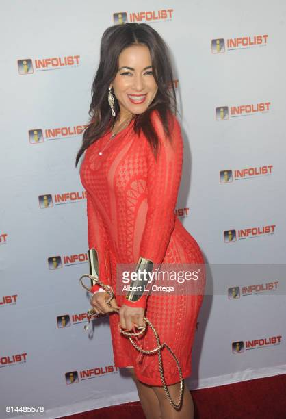 Actress Delilah Cotto attends Jeff Gund's INFOLISTcom's Annual PreComicCon Party held at OHM Nightclub on July 13 2017 in Hollywood California