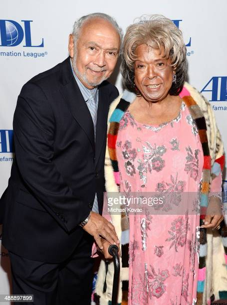 Actress Della Reese and husband Franklin Lett attend the AntiDefamation League Entertainment Industry Dinner Honoring Roma Downey And Mark Burnett at...