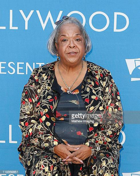 Actress Della Reese arrives at the Hollywood Bowl Opening Night Gala on June 20 2008 in Hollywood California