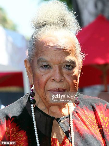Actress Della Reese attends Roma Downey being honored with a Star on the Hollywood Walk of Fame on August 11 2016 in Hollywood California