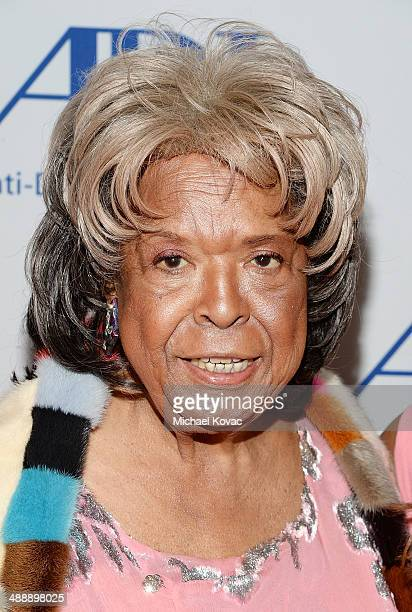 Actress Della Reese attends the AntiDefamation League Entertainment Industry Dinner Honoring Roma Downey And Mark Burnett at The Beverly Hilton Hotel...