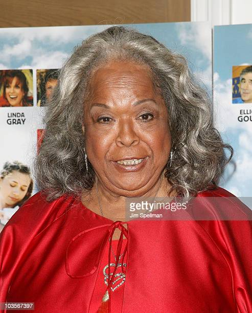 Actress Della Reese attends the premiere of Expecting Mary at the Crosby Street Hotel on August 23 2010 in New York City