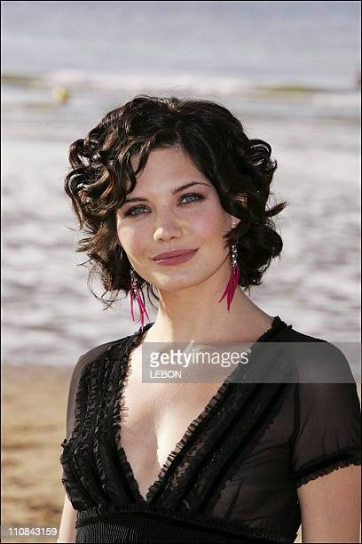 Actress Delphine Chaneac At The Cabourg Romantic Film Festival In Cabourg France On June 10 2006 Actress Delphine Chaneac at the Cabourg Romantic...