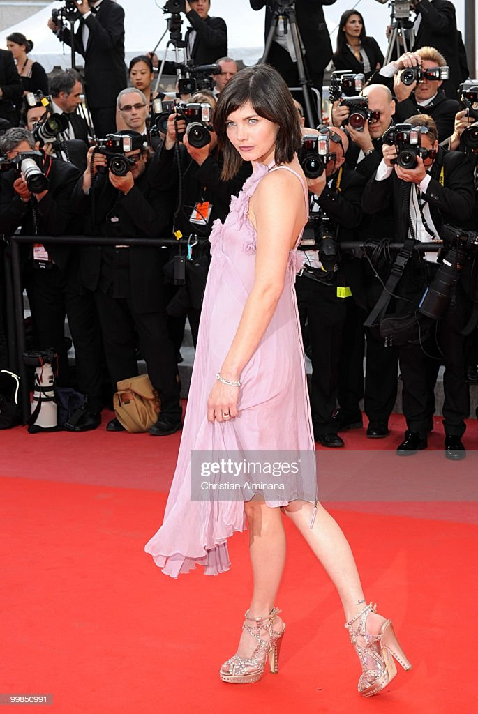 Actress Delphine Chaneac attends 'Biutiful' Premiere at the Palais des Festivals during the 63rd Annual Cannes Film Festival on May 17, 2010 in Cannes, France.