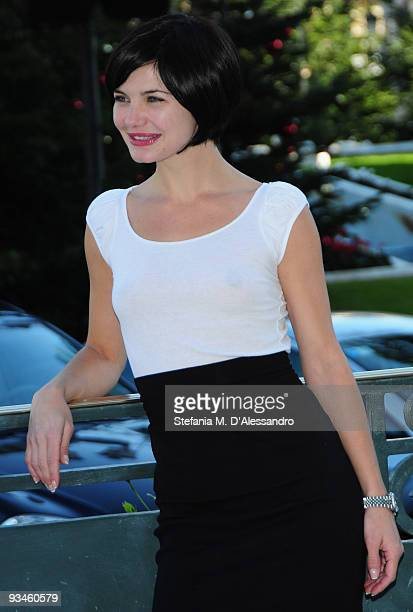 Actress Delphine Chaneac attends the closing press conference for the 9th MonteCarlo Film Festival de la Comedie at Grimaldi Forum on November 28...