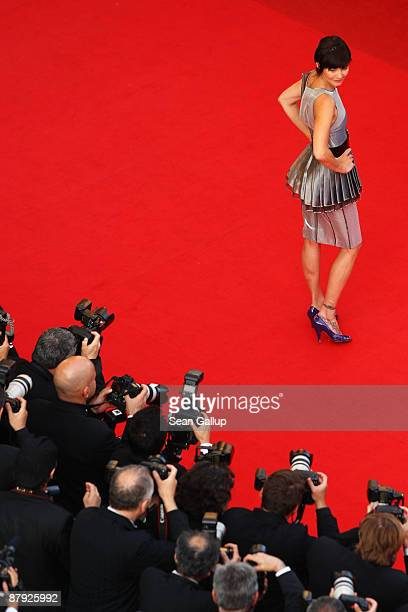Actress Delphine Chaneac attends The Imaginarium Of Doctor Parnassus Premiere at the Palais De Festivals during the 62nd International Cannes Film...