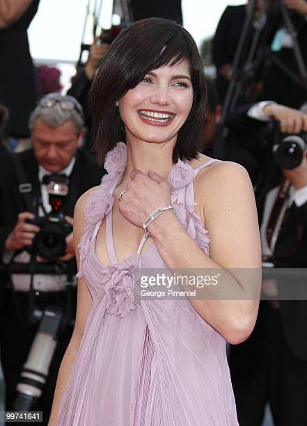 Actress Delphine Chaneac attends the premiere of 'Biutiful' held at the Palais des Festivals during the 63rd Annual International Cannes Film...