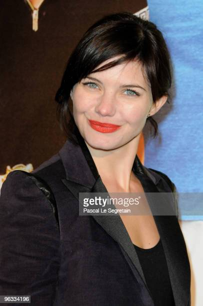 Actress Delphine Chaneac attends the Premiere of I Love You Philip Morris film at Cinematheque Francaise on February 1 2010 in Paris France