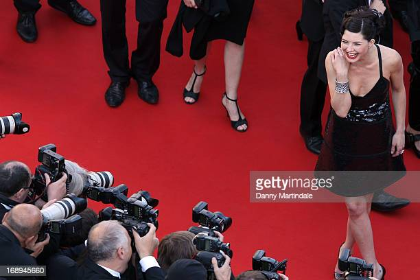 Actress Delphine Chaneac attends the Premiere of 'Le Passe' during The 66th Annual Cannes Film Festival at Palais des Festivals on May 17 2013 in...