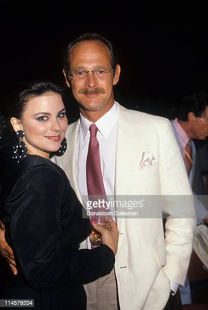 Actress Delta Burke and Actor Gerald McRaney pose for a portrait in August 1987 in Los Angeles California