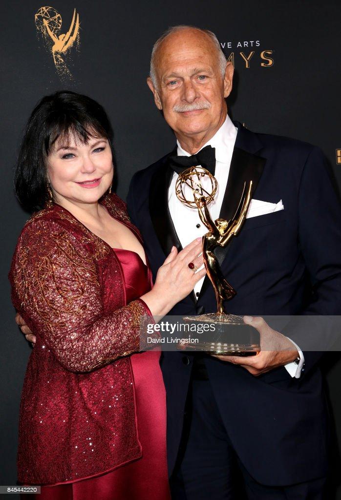 2017 Creative Arts Emmy Awards - Day 2 - Press Room : News Photo
