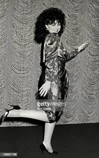 Actress Delta Burke attending the 27th Annual International Broadcasting Awards on March 17 1987 at Century Plaza Hotel in Century City California