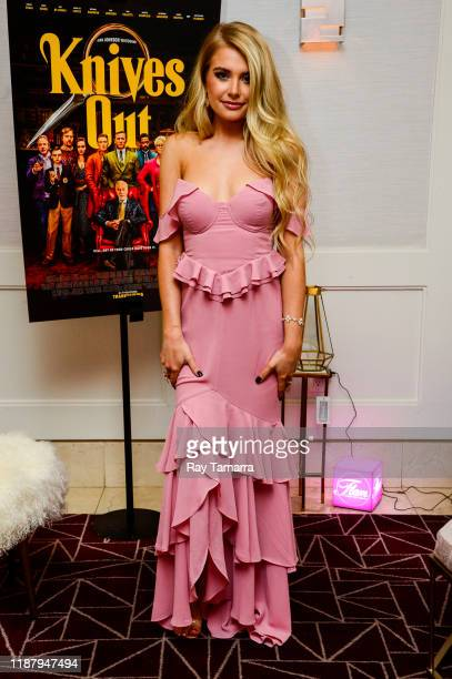 Actress Demi Burnett attends the Knives Out Special Screening And Influencer Event at The London Hotel on November 15 2019 in West Hollywood...