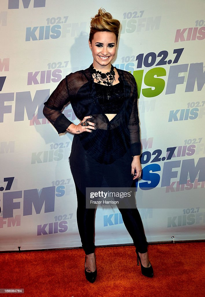 Actress Demi Lovato attends 102.7 KIIS FM's Wango Tango 2013 held at The Home Depot Center on May 11, 2013 in Carson, California.