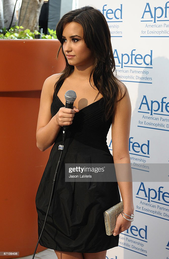 Actress Demi Lovato Attends The Ambassador Of Education Award Ceremony At The Mondrian Hotel On May