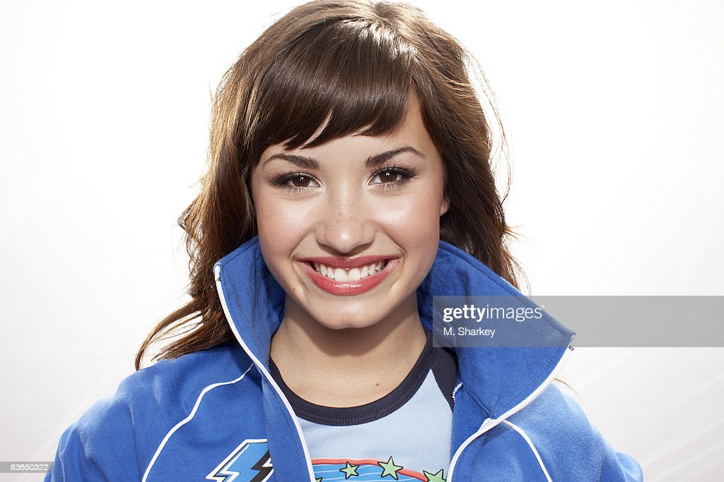 Actress Demi Lovato Is Photographed At The Disney Games In The Epcot Center At Walt Disney